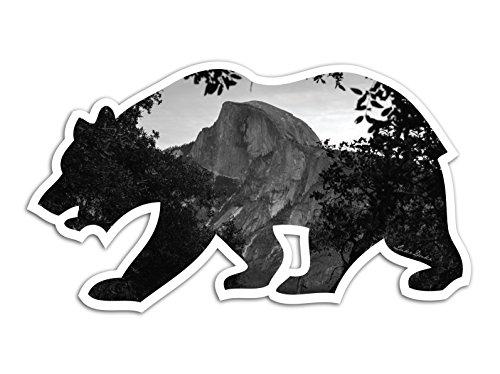 half-dome-bw-yosemite-valley-cali-bear-vinyl-sticker-for-laptop-journal-or-wall-by-lukeduke-