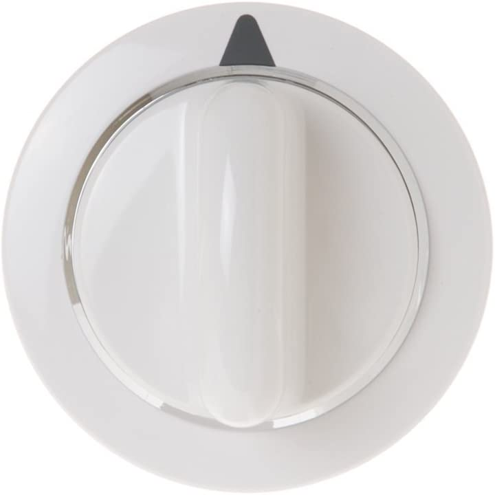 Compatible Timer Knob Assembly for General Electric DHDSR46EG1WW, General Electric WE1M654, General Electric DBXR463GG7WW, General Electric DVLR223GG7WW Dryer