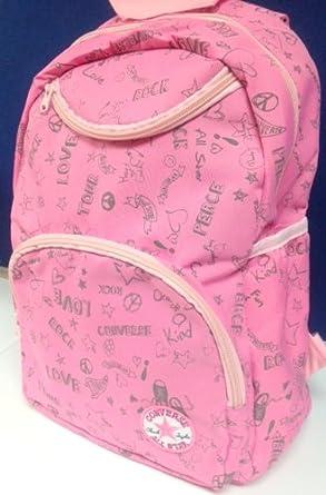converse schulrucksack pink