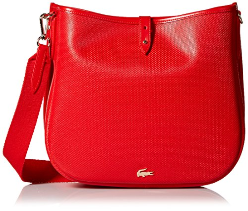 Lacoste Hobo Bag, Nf2118ce, High Risk Red by Lacoste
