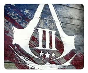 Assassins Creed 3 AC3 Logo Rectangle Mouse Pad by eeMuse