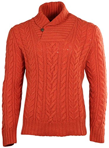 polo-ralph-lauren-mens-wool-shawl-collar-cable-sweater-orange-medium
