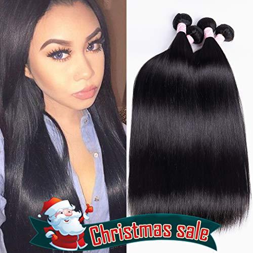 - 8A Mink Hair 4 Bundles Peruvian Straight Hair 18