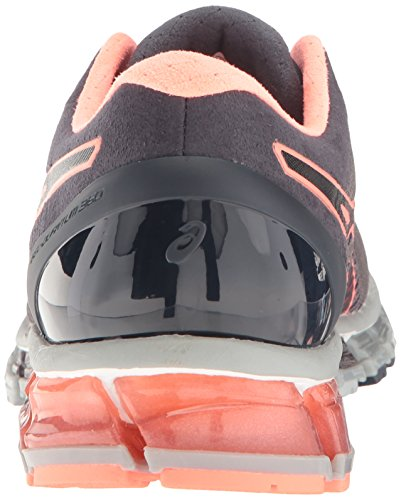 flash mid quantum 360 Mujer Shoe Asics Grey Ink nbsp;cm Gel Running India Coral zEPAqqwZ