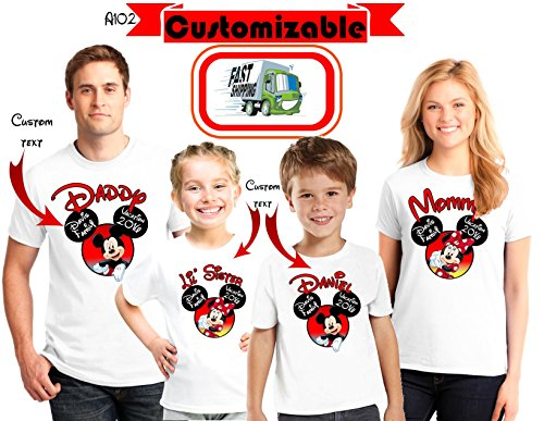 DISNEY Vacation Family Shirts, Disney Custom Shirts, Matching Disney Family Shirts 2018, T-shirts Disney Vacation, Disney Trip Tees d58