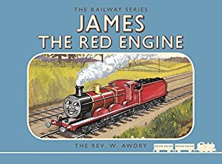book cover of James the Red Engine