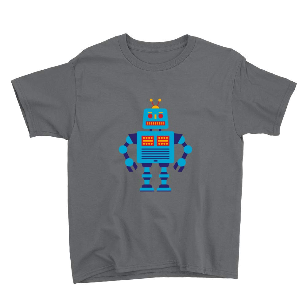 Venley Blue Robot Youth T-Shirt