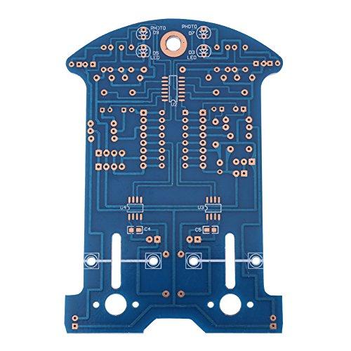e7504d1728ed cheap DIY Kit el Coche Robot Inteligente Arduino Línea de Seguimiento de  Evitación de Obstáculos Bluetooth