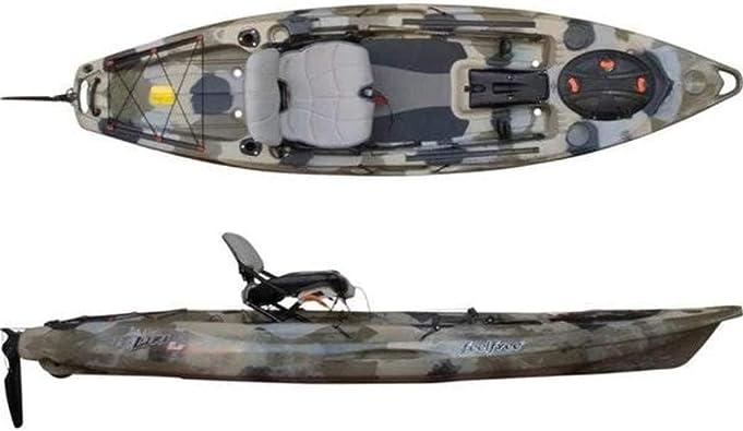 Amazon Com Ff Feelfree Lure 11 5 Fishing Kayak Sports