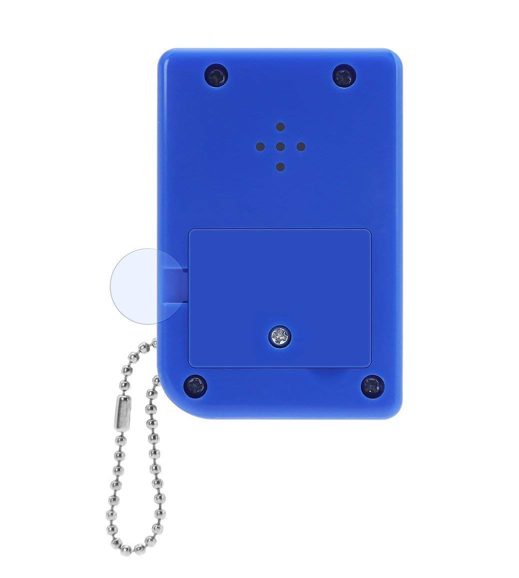 Darkblue KincoBa Brick Game Keychain,with Hanging Chain,Mini Size,Bright Colors,Built-in 26 Brick Game Matches,Best Birthday Festival Gift for 4-12 Year Children