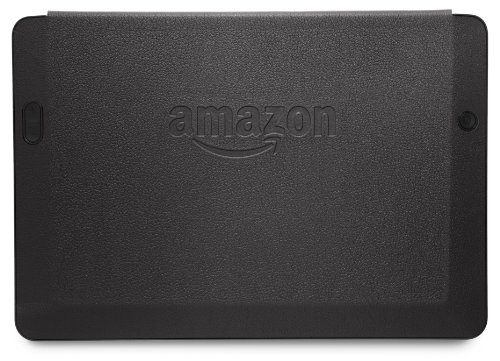"""Amazon Kindle Fire HDX 8.9"""" Standing Leather Origami Case (will only fit Kindle Fire HDX 8.9"""" - 3rd Generation), Black"""