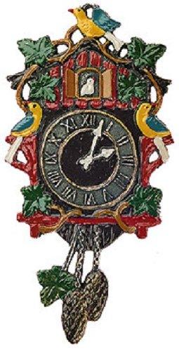 Amazon.com: Reloj de cuco alemán peltre Árbol de Navidad ...