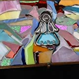 Angel Stained Glass Box Christian Art