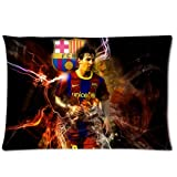 Retro FC Barcelona Pillowcase Zippered Pillow Case 20x30 Standard (Twin sides) by Home pillowcase