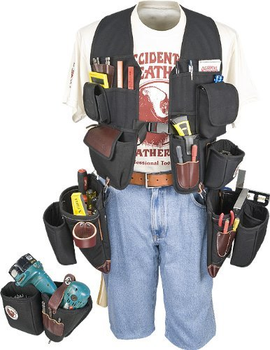 Occidental Leather 2588 Builders' Vest Framer & Drill Combo Package by Occidental Leather