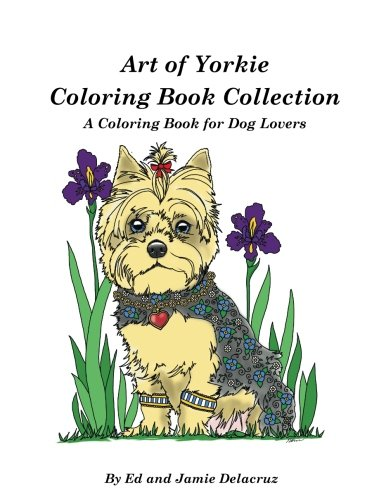 Art Yorkie Coloring Book Collection product image