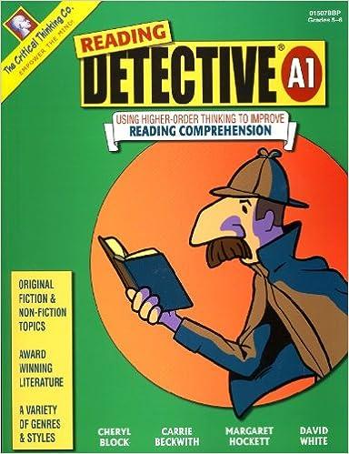 Amazon.com: Reading Detective® A1 (9780894557675): Cheryl Block ...
