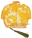 Chinese Apparel / Chinese Clothing & Accessories - Chinese Jacket Silk Purse - Flowers
