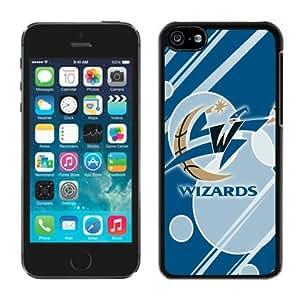 New Custom Design Cover Case For iPhone 5C Generation Washington Wizards 12 Black Phone Case