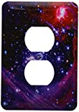 3dRose lsp_76827_6 Galaxy and Nebula Plug Outlet Cover