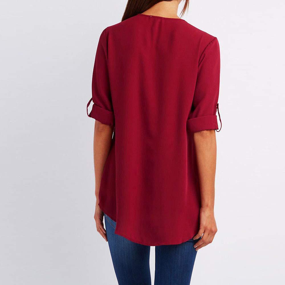 Amazon.com : Clearance!HOSOME Women Top Womens Summer Autumn Fashion Women Casual Tops T-Shirt Loose Top Long Sleeve Blouse : Grocery & Gourmet Food