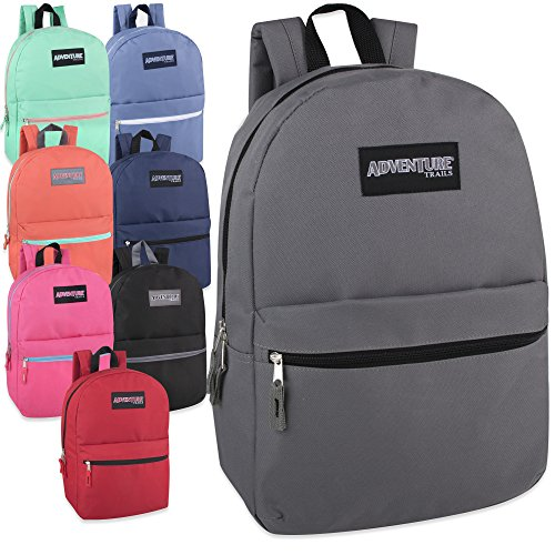 Classic 17 Inch Backpack - 8 Color Case Pack 24 available in Qatar ... 058073053963d