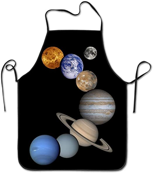 Zhengzho Planetas del Sistema Solar Delantal para cocinar ...