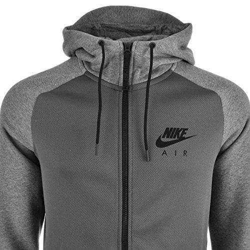 para Hombre Nike Air con Cremallera Sudadera con Capucha Gris 2 Gris Gris XXL: Amazon.es: Ropa y accesorios