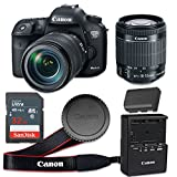 Canon EOS 7D Mark II 20.2 MP CMOS Digital SLR Camera with 3.0-Inch LCD with EF-S 18-55mm f/3.5-5.6 IS STM Lens - Wi-Fi Enabled (Certified Refurbished)