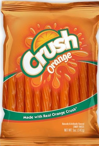 Orange Licorice (Kenny's Orange Crush Licorice Twists (4 Packs))