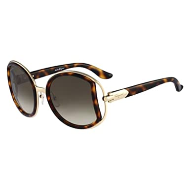 8e6eca094c Amazon.com  Salvatore Ferragamo SF719S-238 Ladies Dark Tortoiseshell ...
