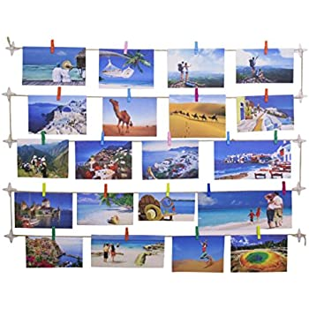 Hangit Photo Display, Hanging Photo Picture Artwork Frame, 24x36,25x30,20x24 Inch Three Sizes For DIY