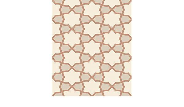 Glitter Moroccan Stars Arthouse Tropics Rio Copper Wallpaper 690700