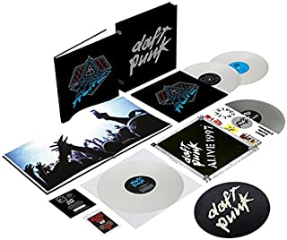 Alive 1997/2007 [4LP Colored Vinyl + Digital Copy] by Daft Punk (B00PCGY9OU) | Amazon Products