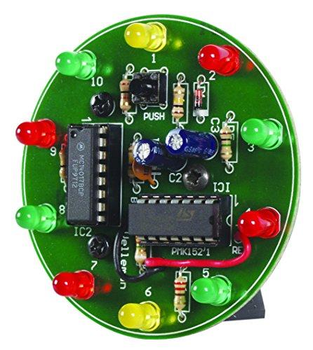 Power Supply Pcb Assembly (Velleman MK152 Spinning LED Wheel MiniKit)