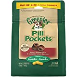 Greenies Pill Pockets Soft Dog Treats, Hickory Smoke, Capsule