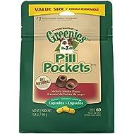 Greenies Pill Pockets Soft Dog Treats, Hickory Smoke, Capsule