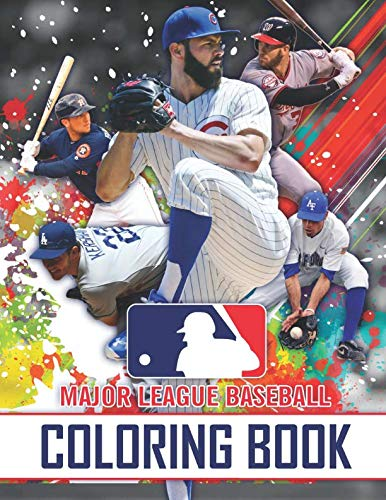 Major League Baseball Coloring Book: Team Logos of MLB