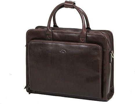 Cartable katana cuir véritable de vachette serviette porte documents sac Homme