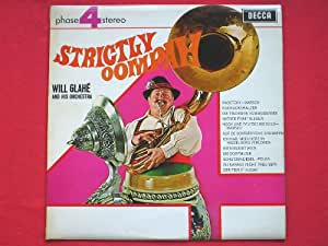 Glahe, Will Strictly Oompah LP Decca PFS4166 EX/VG 1969