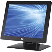ELO 1517L 15 LED LCD Touchscreen Monitor - 4:3 - 16 ms / 5-wire Resistive - 1024 x 768 - Adjustable Display Angle - 16.2 Million Colors - 700:1 - 250 Nit - USB - VGA - Black / E523163 /
