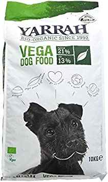 Yarrah Dog Food Organic Vegetarian 10 Kg