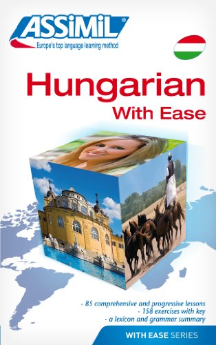Book Method Hungarian with Ease: Hungarian Self-Learning Method (Hungarian Language Assimil)
