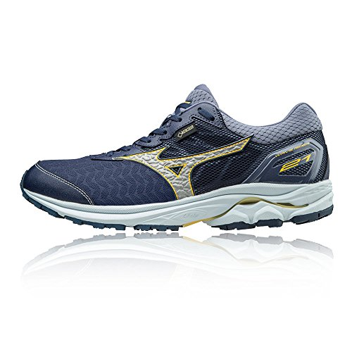 Mizuno Wave Rider 21 Gore-TEX Running Shoes - SS18 Navy Blue qdil5SA4