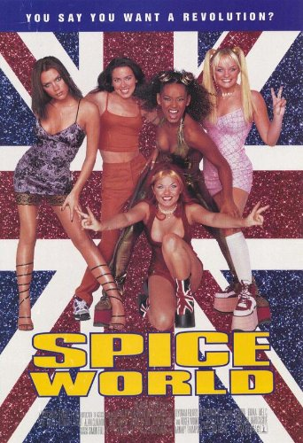 (Spice World: The Movie Poster)