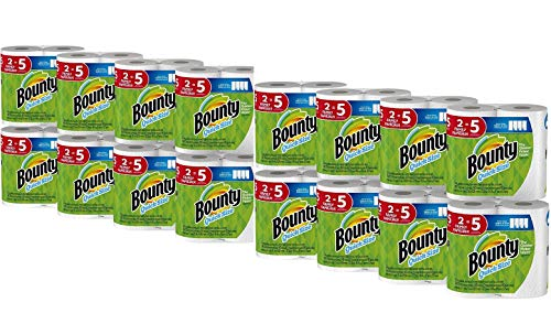 Bounty Quick-Size Paper Towels, 16 Family Rolls, White (2 Pack (16 Count))