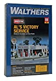 Walthers Cornerstone Series Kit HO Scale Al's Victory Service Station