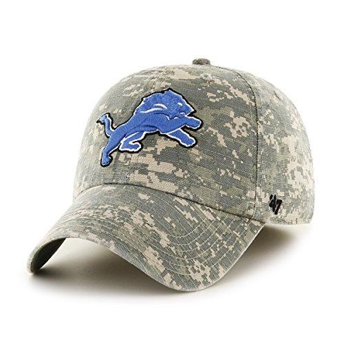 Cheap price NFL Detroit Lions Officer Franchise Fitted Hat, Small, Digital Camo