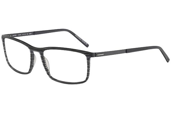 Amazon.com: Morel Eyeglasses Lightec 30024L 30024/L NG06 Black Full ...