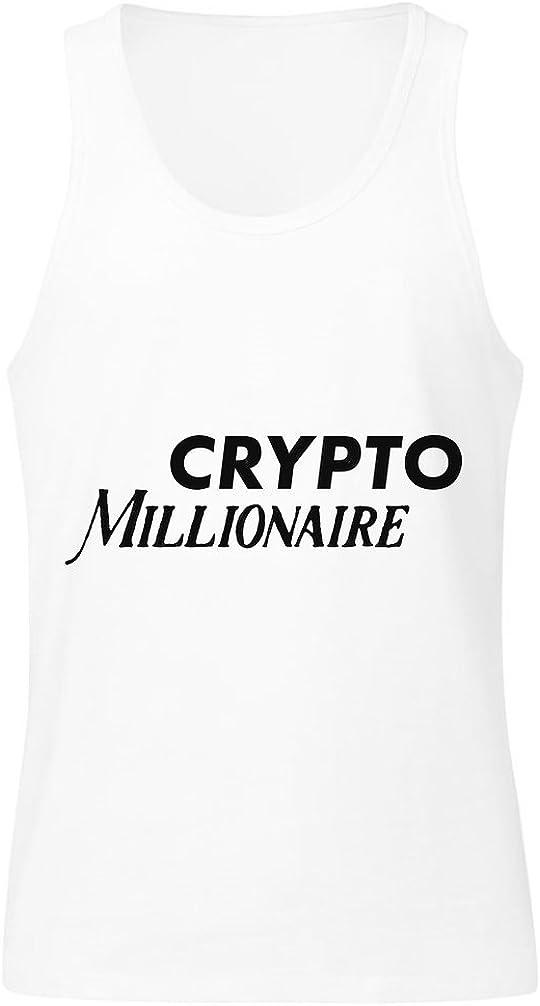 IDcommerce Crypto Millionaire Mens Tank Top Shirt